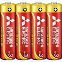 三菱 アルカリ乾電池 GD 単3形 4本パック LR6GD/4S
