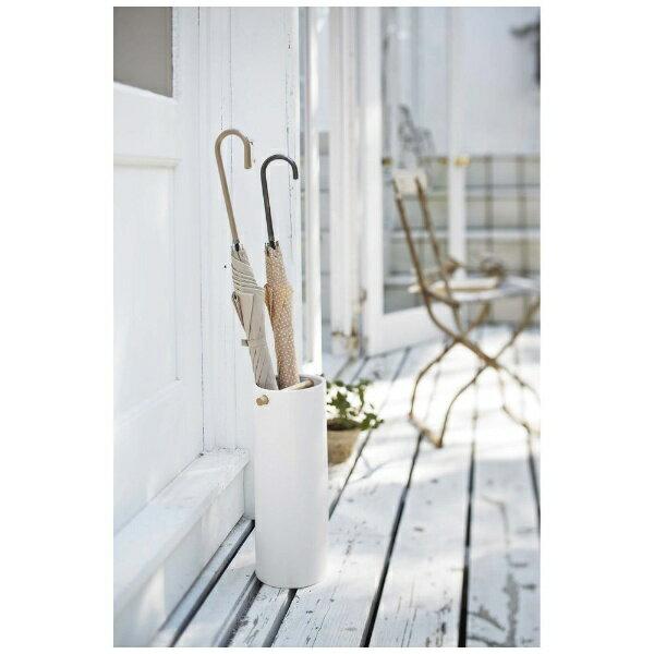 陶器傘立て コモ スリム ホワイト(1コ入)の写真