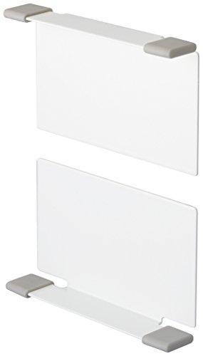 マグネットボックスホルダー プレート ホワイト(1コ入)の写真