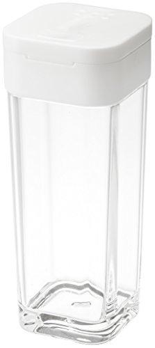 山崎実業 スパイスボトル タワー ホワイト 2863の写真