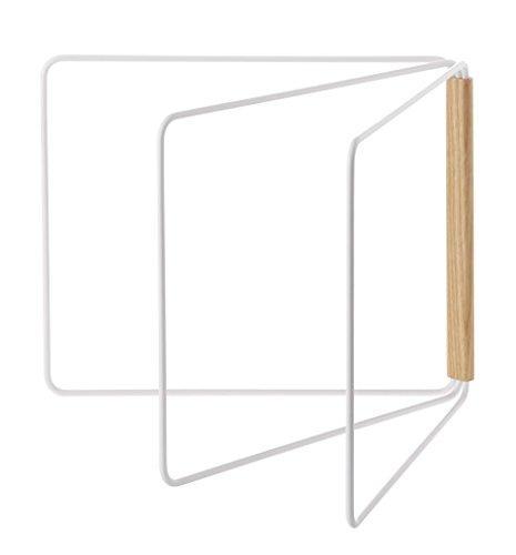 山崎実業 折り畳み布巾ハンガー トスカ ホワイト 2962の写真