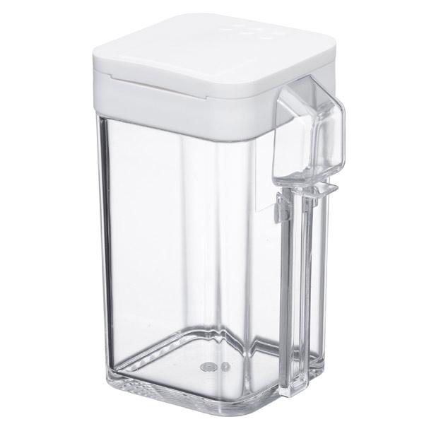 小麦粉&スパイスボトル タワー ホワイトの写真
