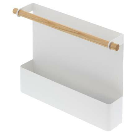 マグネット冷蔵庫サイドレシピホルダー トスカ ホワイト 山崎実業 toscaの写真