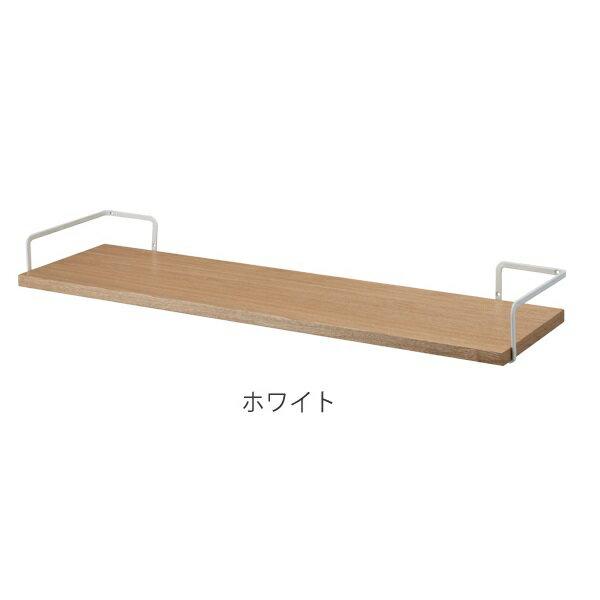 山崎実業 洗濯機上ウォールシェルフ タワー ホワイト 3833の写真