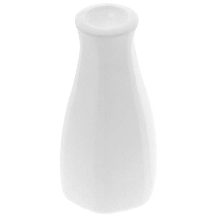 山崎実業 卓上醤油ボトルカバー タワー ホワイト 3936の写真