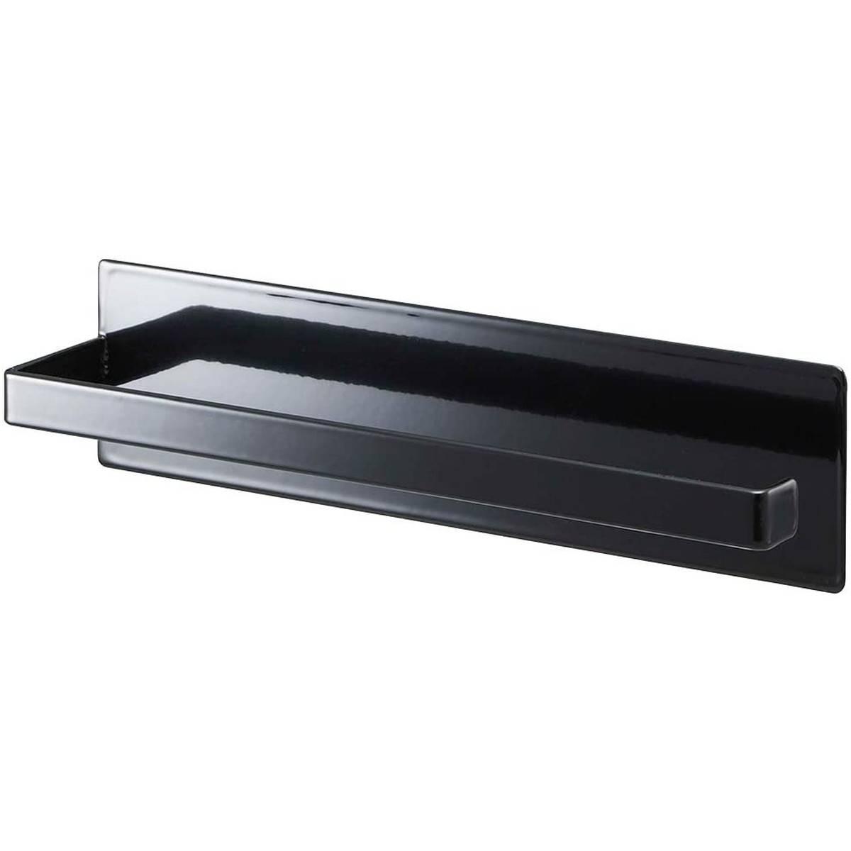 山崎実業 :マグネットキッチンペーパーホルダー タワー ブラック :07128