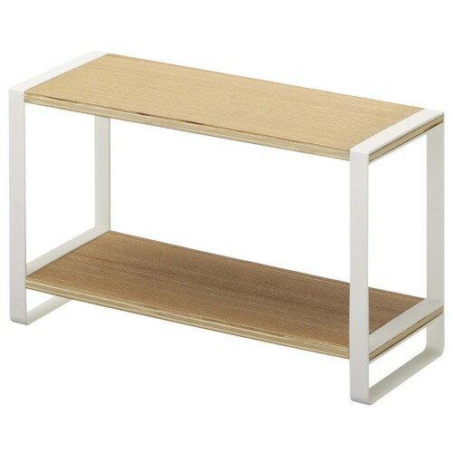 キッチンラック 調味料ラック トスカ 木製 ホワイトの写真