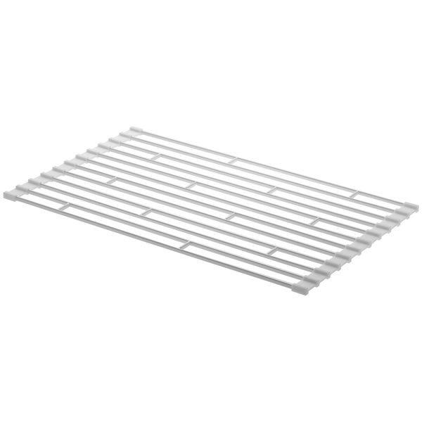 山崎実業 水切り 折り畳み水切りラック S タワー ホワイトの写真