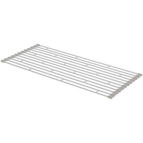 折り畳み水切りラック プレート ホワイト(Lサイズ)の写真