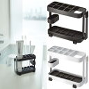 山崎実業 歯ブラシ立て トゥースブラシスタンドタワー ワイド ホワイト WH07848