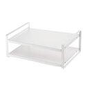 山崎実業 キッチン収納 レンジ上ラック タワー ホワイト WH07938