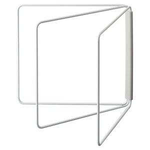 折り畳み布巾ハンガー プレート ホワイト(1コ入)の写真