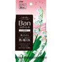 バン(Ban) 爽感さっぱりシャワーシート ノンパウダータイプ ホワイトフローラルの香り(36枚入)