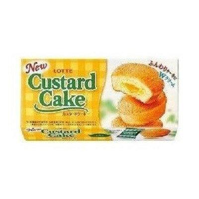 LOTTE(ロッテ)「カスタードケーキ」6個入り