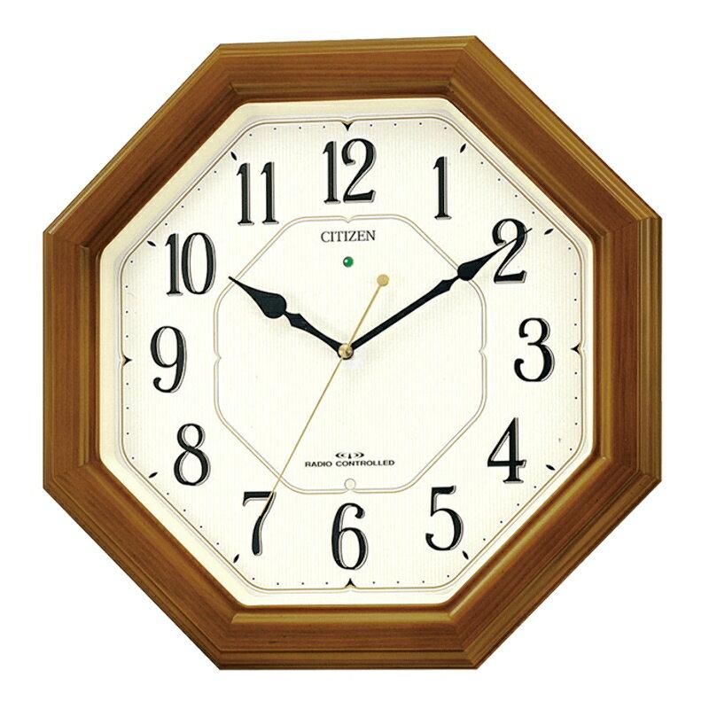 CITIZEN/シチズン リズム時計 電波掛け時計 ネムリーナルック 4MY645-006