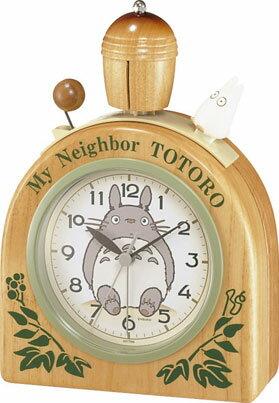 リズム時計 キャラクタークロック となりのトトロ 4RA455MN06