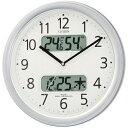 リズム 電波掛時計 4FYA01-019