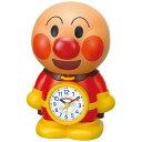 アンパンマンめざましとけい リズム時計 目覚まし時計 4SE552-M06 アンパンマン