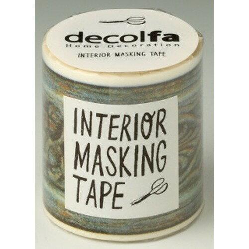 インテリアマスキングテープ 50mm フレーム グリーン M3615(1巻)