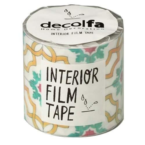 インテリアフィルムテープ 50mm タイル イエロー M3800(1巻)の写真