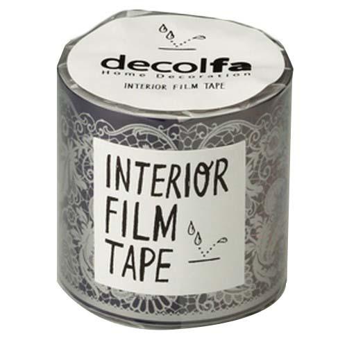インテリアフィルムテープ 50mm シノワズリ ブルー M3801(1巻)