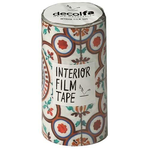 インテリアフィルムテープ 100mm タイル イエロー M3850(1巻)