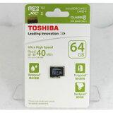 東芝 SD-C064GR7AR040A 64GB microSDXCメモリーカード UHS-I Class10