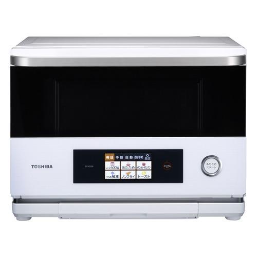 東芝 過熱水蒸気オーブンレンジ グランホワイト ER-ND200(W)(1台)