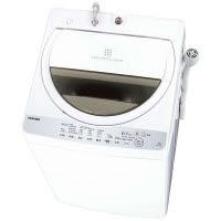 東芝 全自動洗濯機 7kg グランホワイト AW-7G6-W