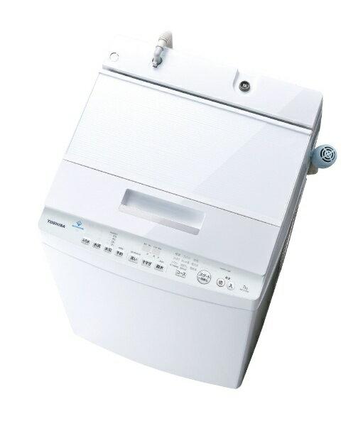 TOSHIBA ZABOON ウルトラファインバブル洗浄W搭載 AW-7D7(W)
