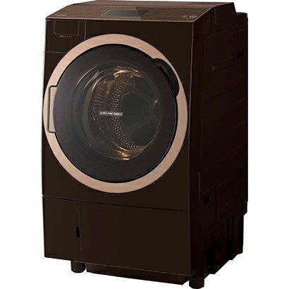 TOSHIBA ZABOON ドラム式洗濯乾燥機 ウルトラファインバブル洗浄W TW-127X7L(T)の写真