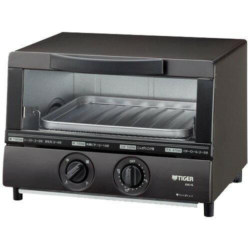 タイガー オーブントースター やきたて ブラウン KAJ-G100T(1台)の写真