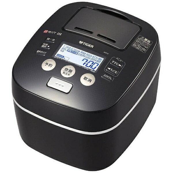 タイガー魔法瓶 土鍋圧力IH炊飯ジャー 炊きたて JKX-V102(K)