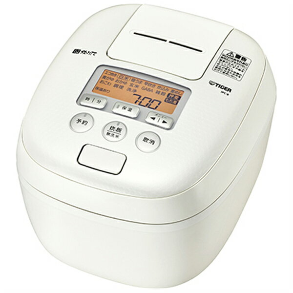 タイガー 圧力IH炊飯ジャー 炊きたて 5.5合 JPC-B102 ミルキーホワイト(1台)