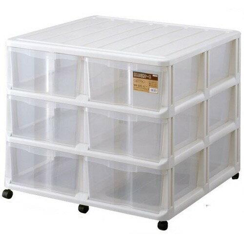 収納ケース 大容量 押入れ収納ケース WM-306 ホワイト 約幅74*奥行70*高さ62.5cm(1コ入)