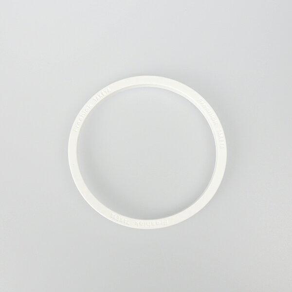フレッシュロック 用パッキン ホワイト Lサイズ TAKEYA/タケヤの写真