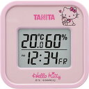 ハローキティ タニタ 温湿度計(デジタルタイプ) Sanrio License TT-558-KTPK