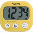 タニタ でか見えタイマー マンゴーイエロー TD-384-MY