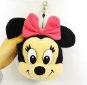 OH!MICKEY&FRIENDS フェイス型 モバイルンルンポーチ ミニーマウス