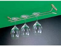 遠藤商事 真鍮 グラスハンガー 10インチ PGL6610の写真