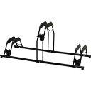 アイリスオーヤマ 自転車スタンド BYS-3 ブラック画像
