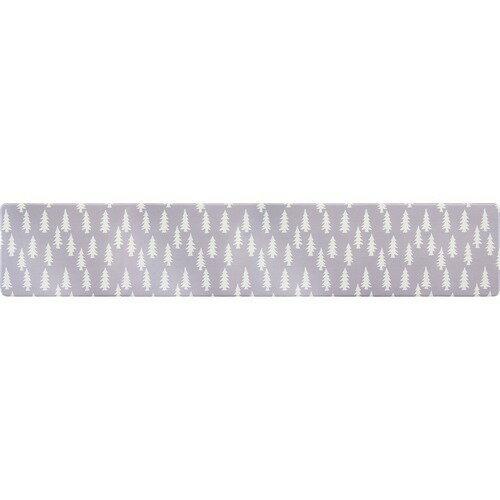 拭ける北欧風PVCキッチンマット 45*240cm 8mm厚 ウッズ(1枚)の写真