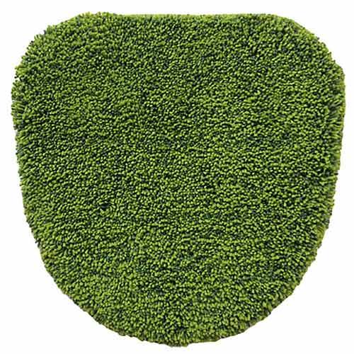 シバフ 洗浄・暖房用フタカバー グリーン(1枚入)