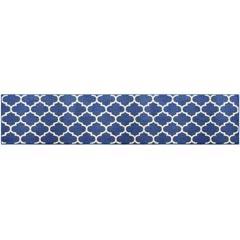 オカトー 休足力 インテリアマット   モロッカン ブルーの写真