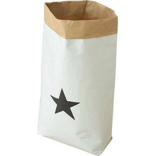 日本の米袋屋さんがつくった北欧風ペーパーバッグ STAR 星柄 YGK-1(1枚入)の写真