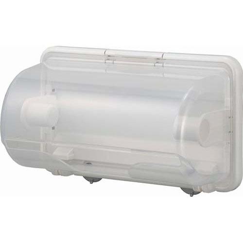 プラススマート キッチンペーパーホルダー ホワイト(1コ入)の写真