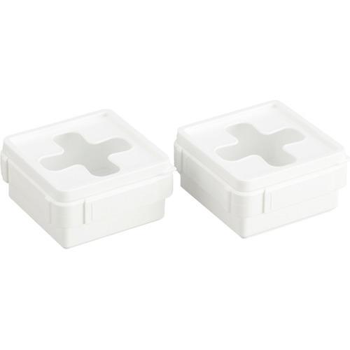 プルアウトボックス ホワイト ミニ(2個組)の写真