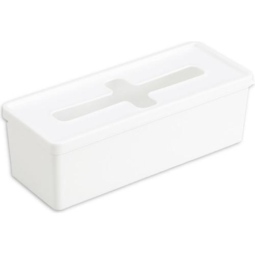 プルアウトボックス ホワイト ロング(1個)の写真