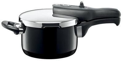 SHIMIZU/清水産業 シコマチック Tプラス 圧力鍋 2.5L ブラックの写真