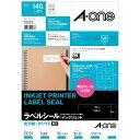 インクジェットプリンタラベル 光沢紙ラベルA4判 14面 宛名・表示用   10シート(140片)